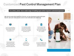 Customized Pest Control Management Plan Ppt Powerpoint Presentation File Show