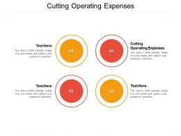 Cutting Operating Expenses Ppt Powerpoint Presentation Model Graphics Download Cpb