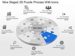 86316236 Style Puzzles Circular 9 Piece Powerpoint Presentation Diagram Infographic Slide