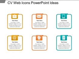 Cv Web Icons Powerpoint Ideas