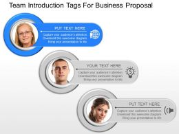 cw Team Introduction Tags For Business Proposal Powerpoint Template