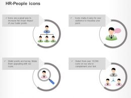 Cx Business Organisation Chart Thoughts Searching Good Leader Team Ppt Icons Graphics
