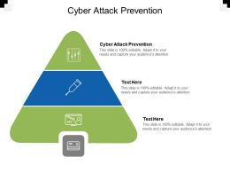 Cyber Attack Prevention Ppt Powerpoint Presentation Outline Samples Cpb