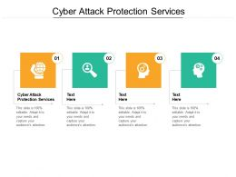 Cyber Attack Protection Services Ppt Powerpoint Presentation Pictures Rules Cpb