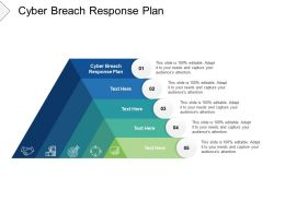 Cyber Breach Response Plan Ppt Powerpoint Presentation Show Graphic Images Cpb