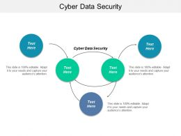 Cyber Data Security Ppt Powerpoint Presentation Inspiration Clipart Cpb