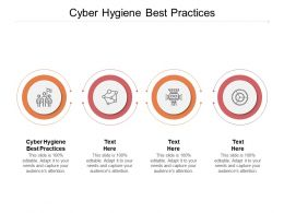 Cyber Hygiene Best Practices Ppt Powerpoint Presentation Summary Icon Cpb