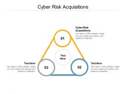 Cyber Risk Acquisitions Ppt Powerpoint Presentation Layouts Visuals Cpb