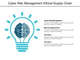 Cyber Risk Management Ethical Supply Chain Leadership Effectiveness Assessment Cpb