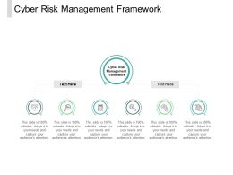 Cyber Risk Management Framework Ppt Powerpoint Presentation File Introduction Cpb
