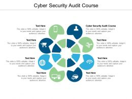 Cyber Security Audit Course Ppt Powerpoint Presentation Ideas Pictures Cpb