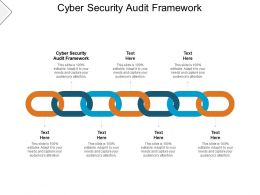 Cyber Security Audit Framework Ppt Powerpoint Presentation Guide Cpb