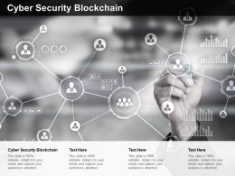 Cyber Security Blockchain Ppt Powerpoint Presentation Professional Templates Cpb
