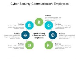 Cyber Security Communication Employees Ppt Powerpoint Presentation Infographic Template Graphics Pictures Cpb