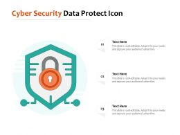 Cyber Security Data Protect Icon