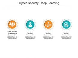 Cyber Security Deep Learning Ppt Powerpoint Presentation Portfolio Model Cpb
