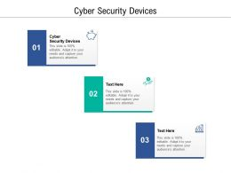 Cyber Security Devices Ppt Powerpoint Presentation Summary Inspiration Cpb