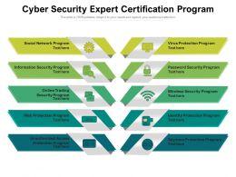 Cyber Security Expert Certification Program
