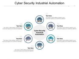 Cyber Security Industrial Automation Ppt Powerpoint Presentation Professional Infographic Cpb
