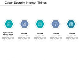 Cyber Security Internet Things Ppt Powerpoint Presentation Professional File Formats Cpb