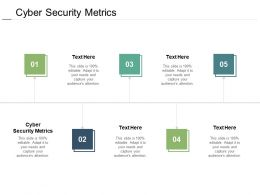 Cyber Security Metrics Ppt Powerpoint Presentation Summary Graphic Tips Cpb