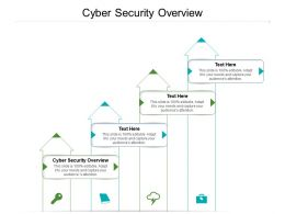 Cyber Security Overview Ppt Powerpoint Presentation Model Tips Cpb