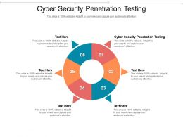 Cyber Security Penetration Testing Ppt Powerpoint Presentation File Portrait Cpb