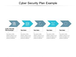 Cyber Security Plan Example Ppt Powerpoint Presentation File Images Cpb