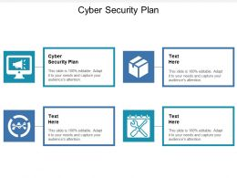 Cyber Security Plan Ppt Powerpoint Presentation File Graphics Cpb
