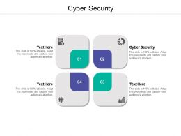 Cyber Security Ppt Powerpoint Presentation Inspiration Deck Cpb