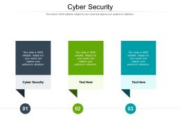 Cyber Security Ppt Powerpoint Presentation Pictures Portfolio Cpb