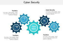 Cyber Security Ppt Powerpoint Presentation Slides Deck Cpb
