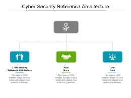 Cyber Security Reference Architecture Ppt Powerpoint Presentation Portfolio Graphics Cpb