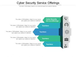 Cyber Security Service Offerings Ppt Powerpoint Presentation Inspiration Show Cpb