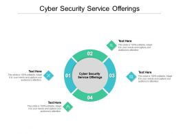 Cyber Security Service Offerings Ppt Powerpoint Presentation Visual Aids Professional Cpb