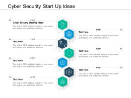 Cyber Security Start Up Ideas Ppt Powerpoint Presentation Summary Images Cpb