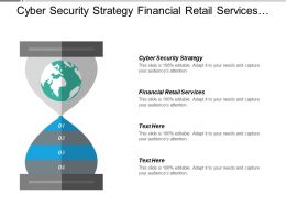 Cyber Security Strategy Financial Retail Services Migration Work Cpb