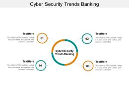 Cyber Security Trends Banking Ppt Powerpoint Presentation Layouts Structure Cpb