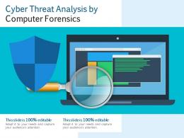Cyber Threat Analysis By Computer Forensics