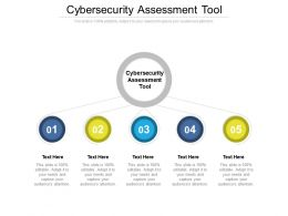 Cybersecurity Assessment Tool Ppt Powerpoint Presentation Ideas Visual Cpb
