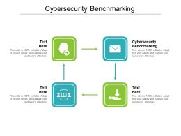 Cybersecurity Benchmarking Ppt Powerpoint Presentation Styles Backgrounds Cpb