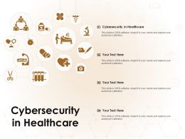 Cybersecurity In Healthcare Ppt Powerpoint Presentation Pictures Inspiration
