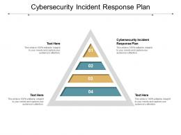 Cybersecurity Incident Response Plan Ppt Powerpoint Presentation Outline Infographic Template Cpb