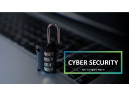 Cybersecurity Powerpoint Presentation Slides