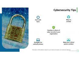 Cybersecurity Powerpoint Presentation Slides