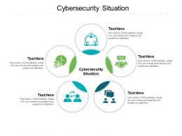 Cybersecurity Situation Ppt Powerpoint Presentation Infographic Template Deck Cpb
