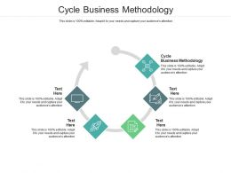Cycle Business Methodology Ppt Powerpoint Presentation Styles Guide Cpb