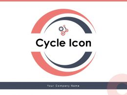 Cycle Icon Business Processes Consumer Gear Continuous Arrows