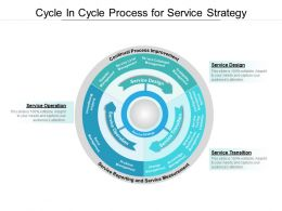 Cycle In Cycle Process For Service Strategy