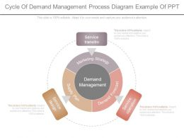Cycle Of Demand Management Process Diagram Example Of Ppt